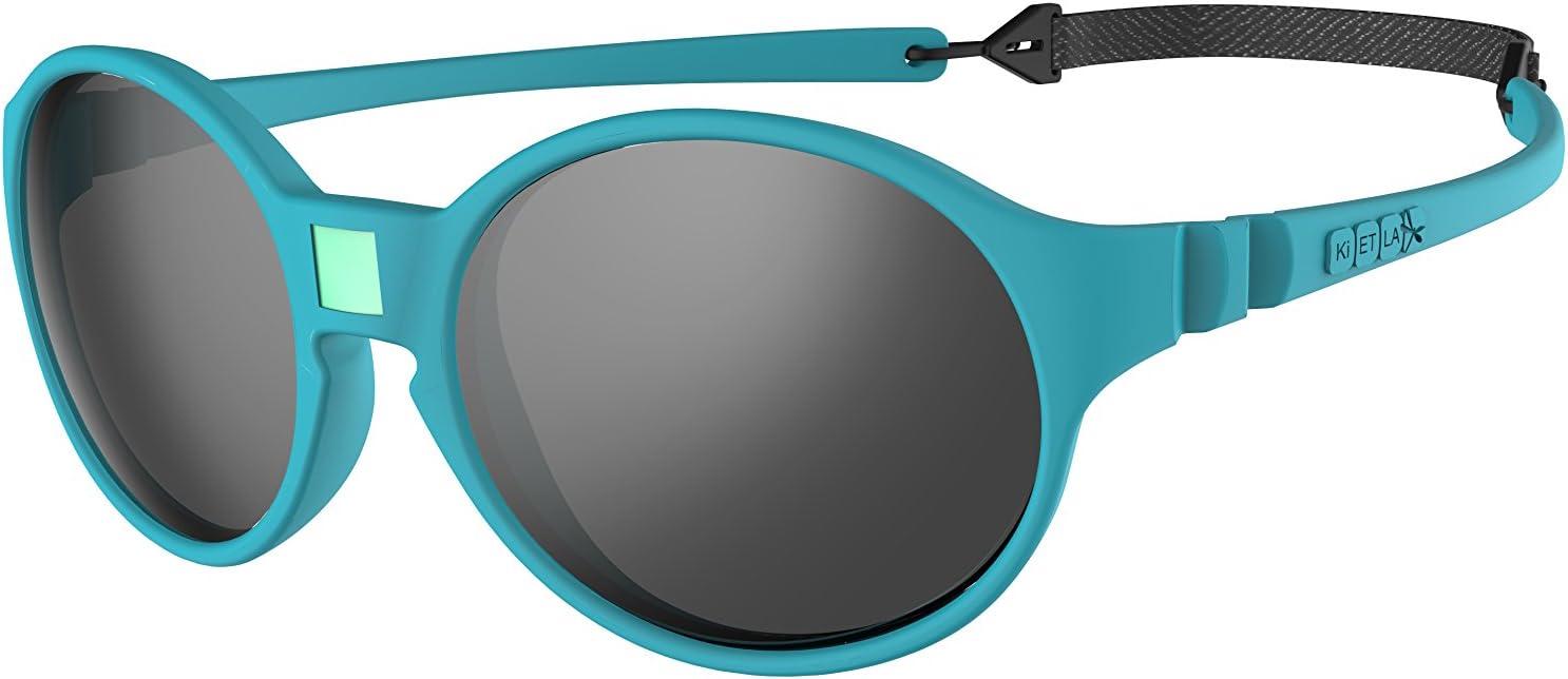 Ki ET LA – Gafas de sol para Bebé modelo Jokakids – 100% irrompibles - 4-6 años