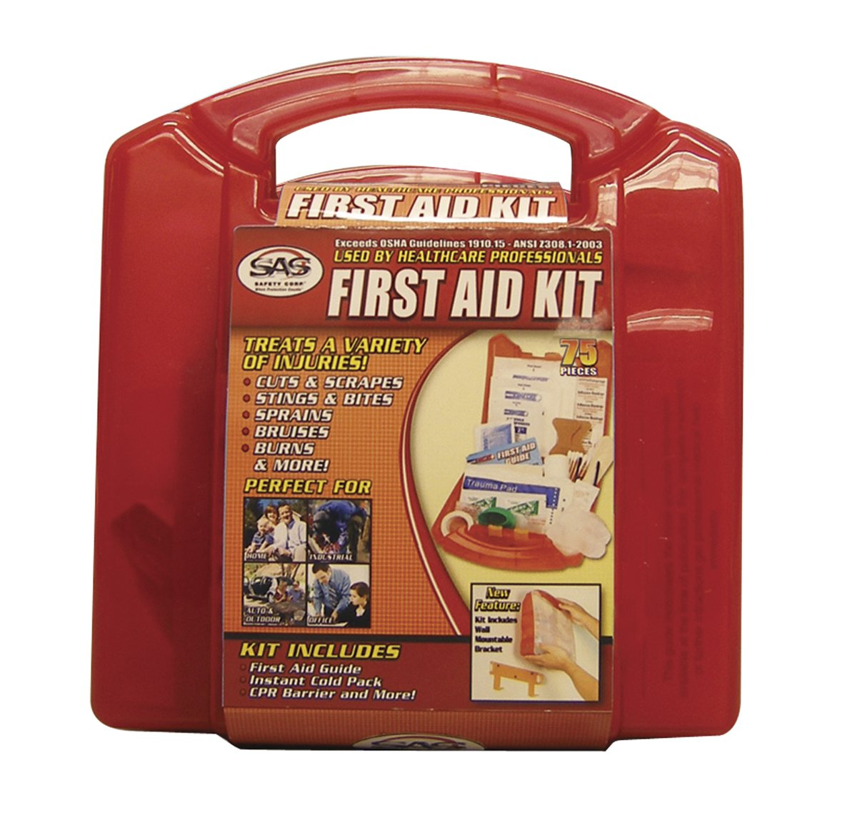 SAS Safety 6010 10-Person First-Aid Kit