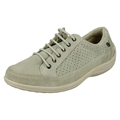 e345da309b73 Ladies Free Step Casual Lace Up Shoes Crocus  Amazon.co.uk  Shoes   Bags