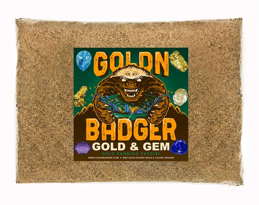 Goldn Badger Gold & Precious Gem Panning Paydirt
