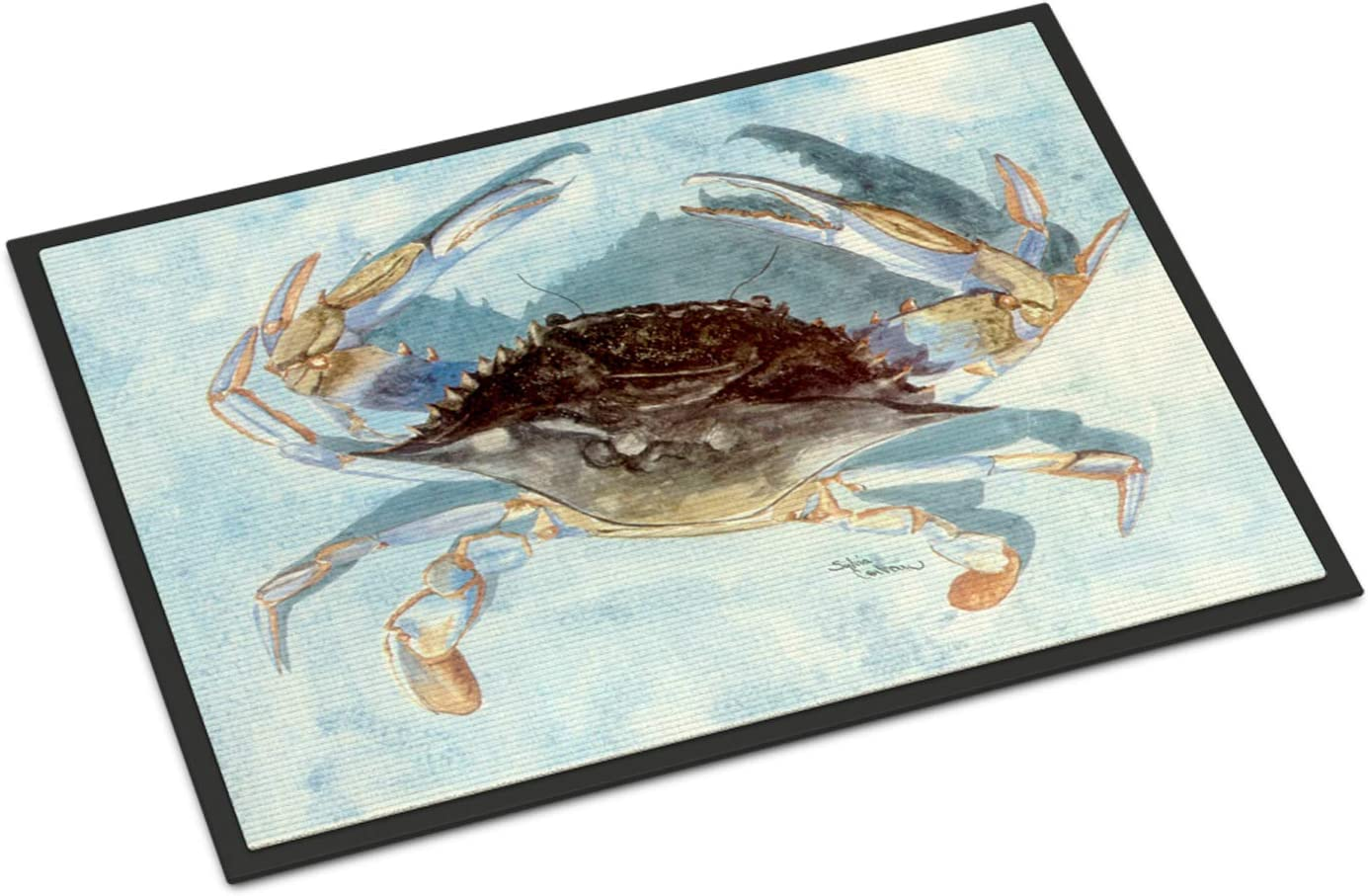Caroline s Treasures 8011JMAT Blue Crab Indoor or Outdoor Mat 24×36, 24H X 36W, Multicolor