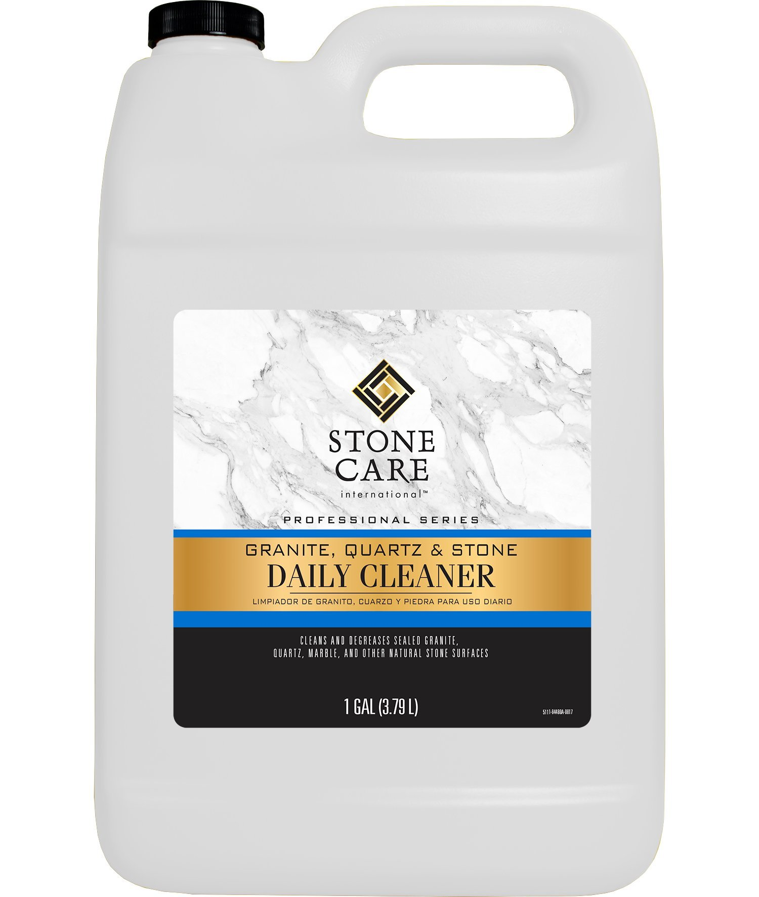 Stone Care International [1 Gallon] Granite Quartz Stone Daily Cleaner - Clean and De-Grease Natural Stones with Streak Free Finish - 1 Gallon by Weiman