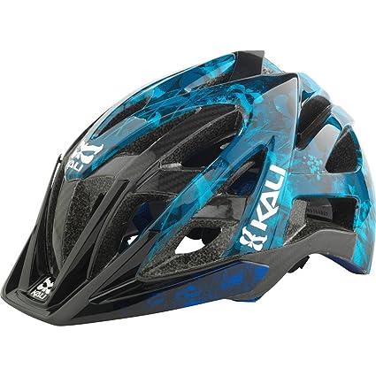 Kali Protectives Avana Enduro Helmet Grunge/Blue, S/M