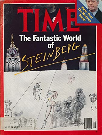 TIME Saul Steinberg Jimmy Carter Neutron Bomb Tongsun Park 4/17 1978 at Amazons Entertainment Collectibles Store