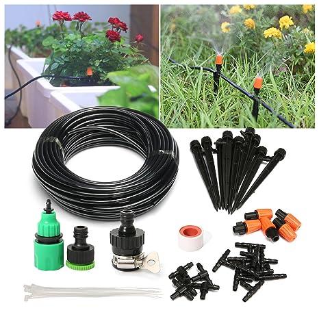 Amazon.com : PATHONOR Drip Irrigation Kits, Plant Watering Kit With ...