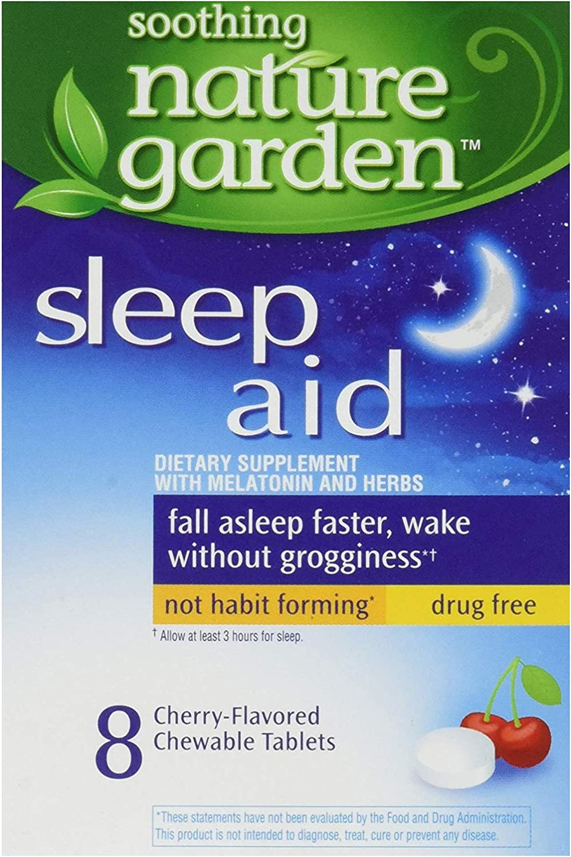 Nature Garden Sleep Remedy, Yellow, 8 Count