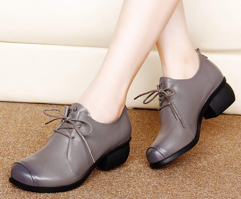 Fuxitoggo In Schuhe mit Schuhe Runde mit Runde Schuhe Schuhe Schuhe mit Schuhe Casual (Farbe   Grau Größe   39) 7113ba