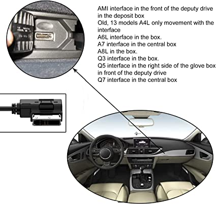 Media In Interface Adapter Kompatibel Mit Audi V Elektronik