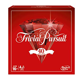 Hasbro E1923100 Trivial Pursuit 40TH Spiele