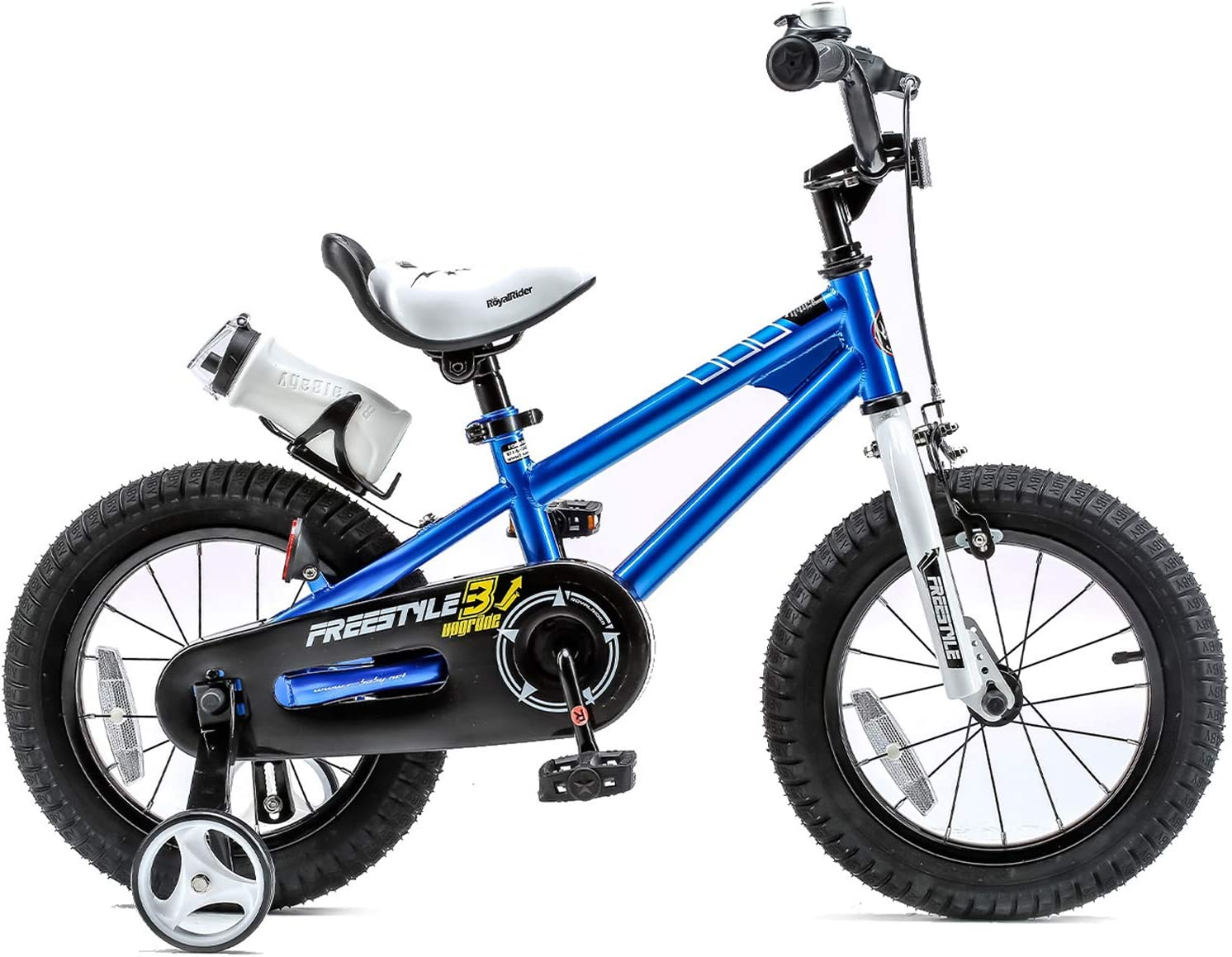 avec Formation Roues Royalbaby Kids Bike garçons filles Freestyle Vélo 14 in environ 35.56 cm
