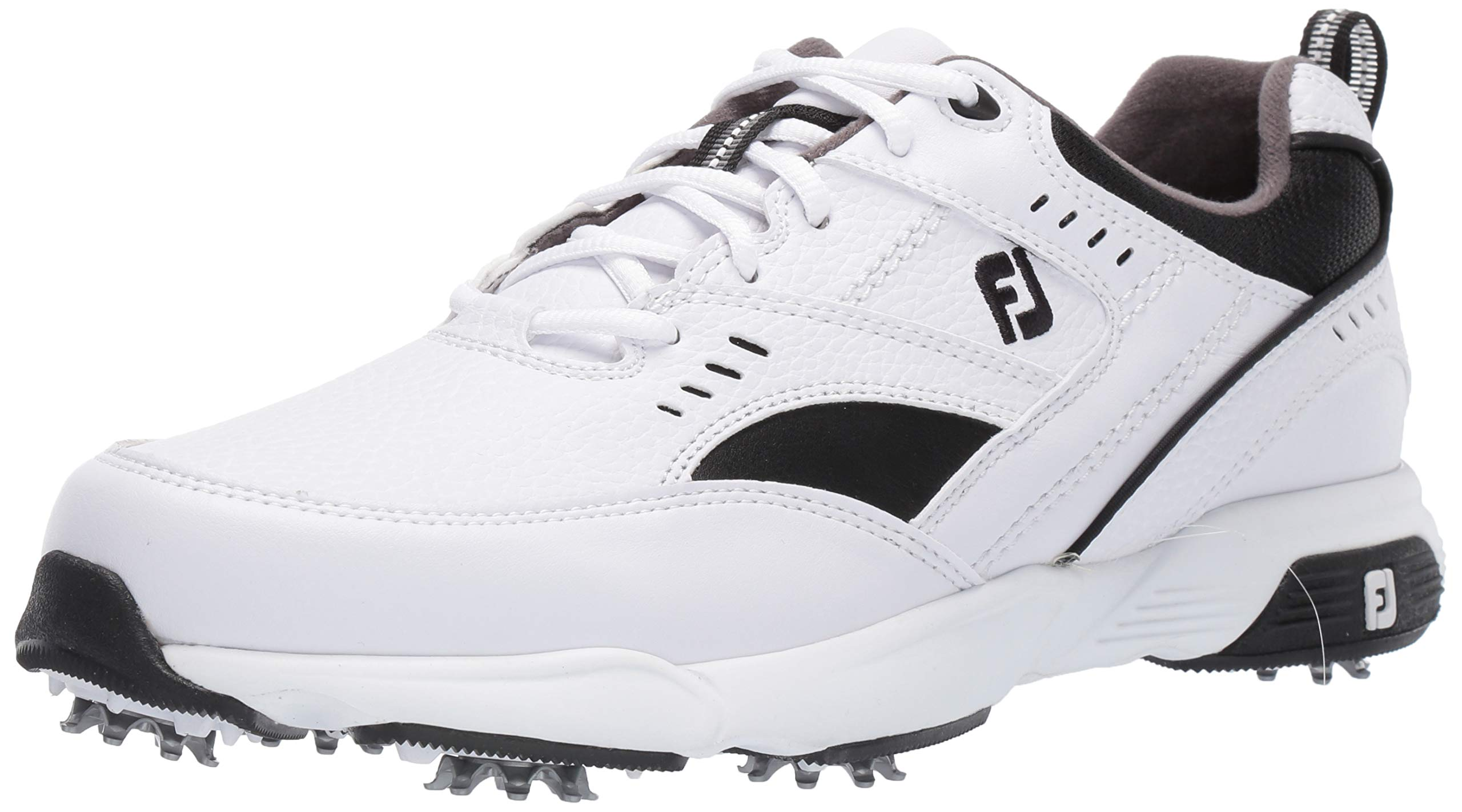 FootJoy Men's Sneaker Golf Shoes, White, 12 W US by FootJoy