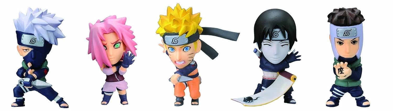 Charapedia Heros Naruto Shippuden 20 pieces (PVC Figure)