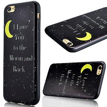 coque iphone 6 lune