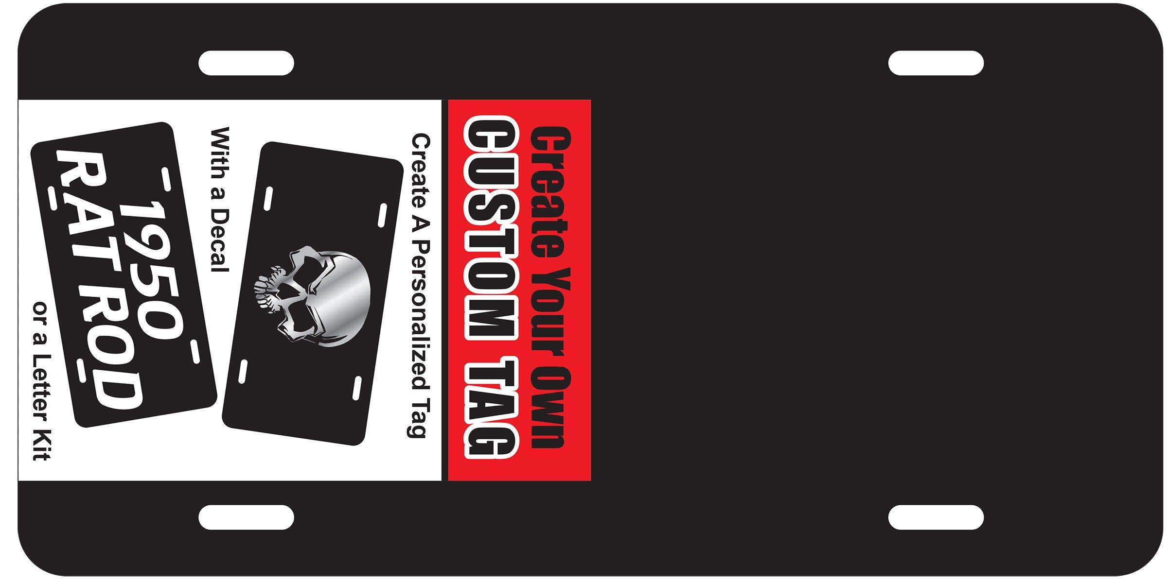 CHROMA 001438 Create Black License Plate by CHROMA (Image #2)