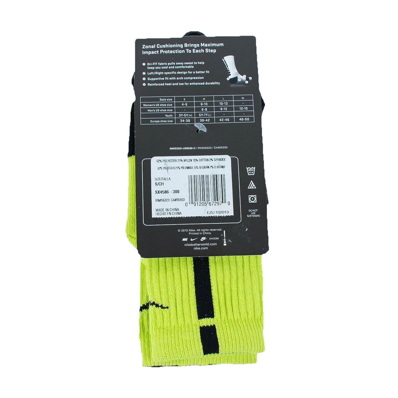 SX4586-300 NIKE Elite Cushioned Crew Sock Dri Style