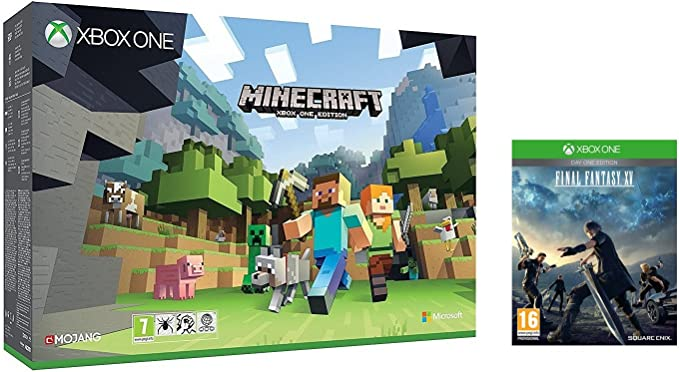 Xbox One - Pack Consola S 500 GB: Minecraft + Final Fantasy XV Day One Edition: Amazon.es: Videojuegos