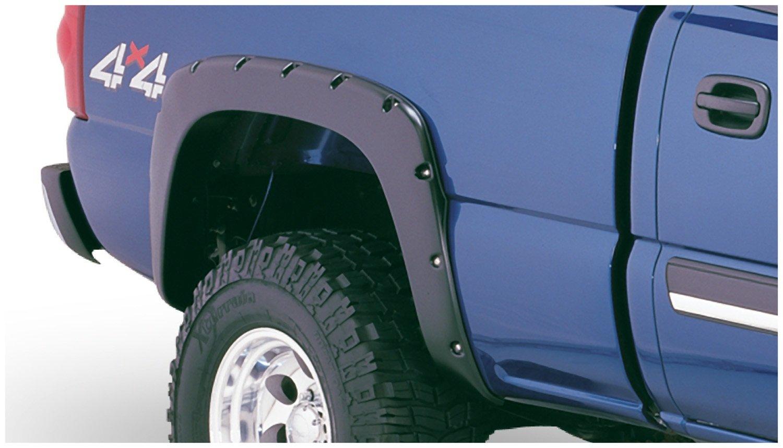 Bushwacker 40918-02 Chevrolet Pocket Style Fender Flare Set of 4