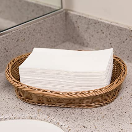 Disposable Guest Towels   Linen Feel Hand Napkins  For KItchen, Dining,  Bathroom,