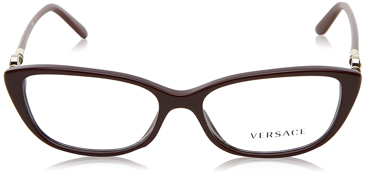 4d5aa0c0b550 Amazon.com  Versace VE3206 Eyeglass Frames GB1-54 - Black VE3206-GB1-54   Shoes