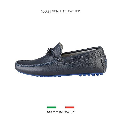 Made in Italia Raffaello, Mocasines para Hombre, Azul Noche, 42 EU: Amazon.es: Zapatos y complementos