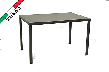 Balkon Tisch 120x80.Amazon De Rd Italia Tisch 120 X 80 Für Außen Garten