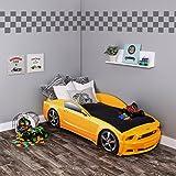 Kinderbett auto weiss  Autobett Turbo V8 (Weiß): Amazon.de: Küche & Haushalt