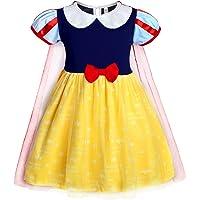 AmzBarley Blancanieve Disfraz Vestido Princesa Blancanieves Niña Tutu Ceremonia,Traje Niña,Disfraz Infantil Marga Corta…