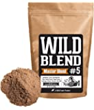Wild Blend #5 Master Mix Superfood Powder Blend Mix for Smoothies, Shakes, Coffee, Baking - Health, Performance, Nootropic Mental Performance (#5 Master Blend - 8oz)