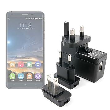 DURAGADGET Kit De Adaptadores con Cargador para Smartphone Oukitel ...
