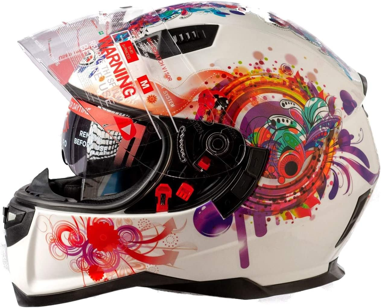 xs Shiro Casco SH-881 Princess Blanco