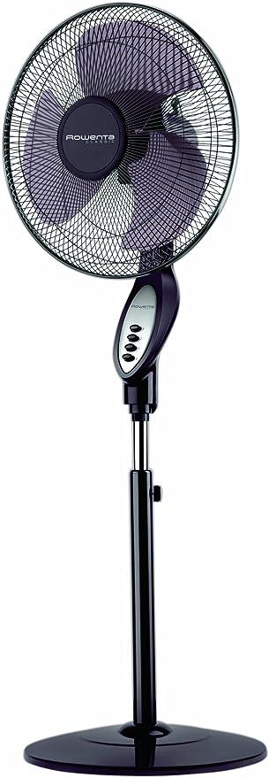 Rowenta VU5140 - Ventilador de pie, color negro y plateado: Amazon ...