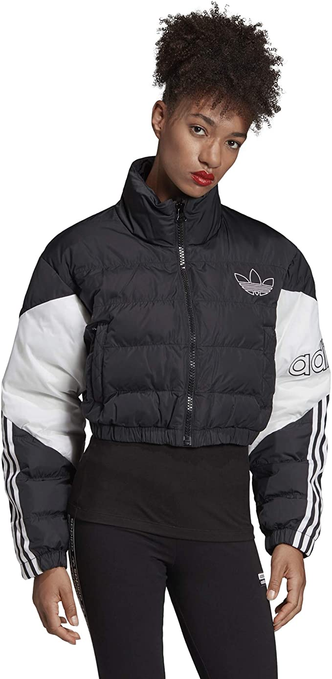 adidas Damen Cropped Puffer, Jackets