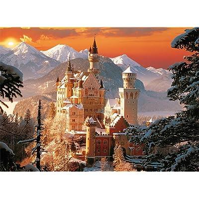 TREFL 33025 - Puzle (3000 Piezas), diseño del Castillo Neuschwanstein de Baviera: Juguetes y juegos