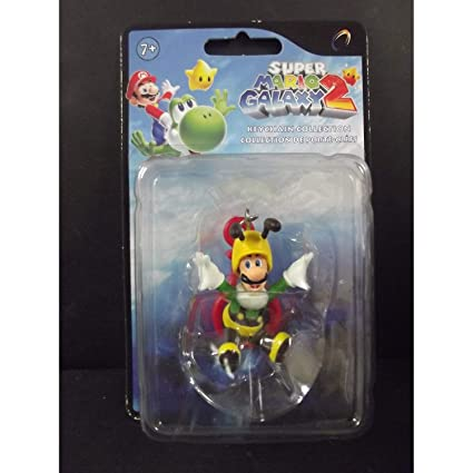 Amazon.com: Super Mario Galaxy 2 Mini Figura llavero Abeja ...