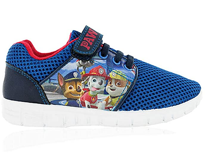 Paw Patrol Glenbeigh Blue Trainers UK Size 6: Amazon.fr: Chaussures et Sacs