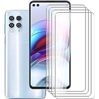 """HHUAN Screenprotector voor Motorola Moto G100 (6.70""""), [4 Pack] 9H-hardheid Gehard Glas Ultra HD, Krasbestendig Screen…"""