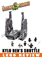 LEGO Star Wars The Force Awakens Kylo Ren' s Command Shuttle Review (75104)
