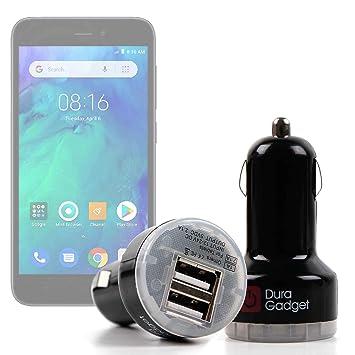 DURAGADGET Cargador Mechero del Coche para Smartphone VSMART ...