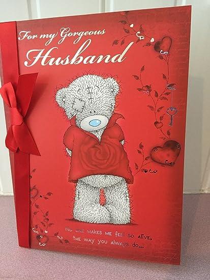 Peluche grande de San Valentín para mi esposo hermosoy