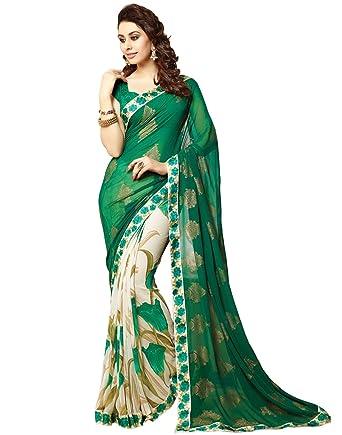 716122d6f8 Amazon.com: Indian Ethnic Bollywood Saree Party Wear Pakistani Designer  Sari Wedding: Clothing