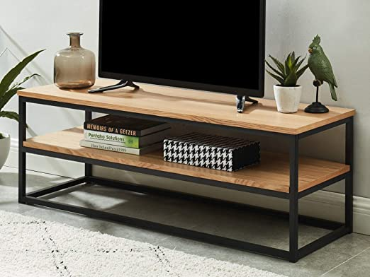 Homifab Meuble Tv Industriel 120x40x42 Cm Collection