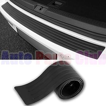 35.8 Pulgada Nrpfell 1Set Car Rubber Rear Guard Bumper Protector Trim Cover