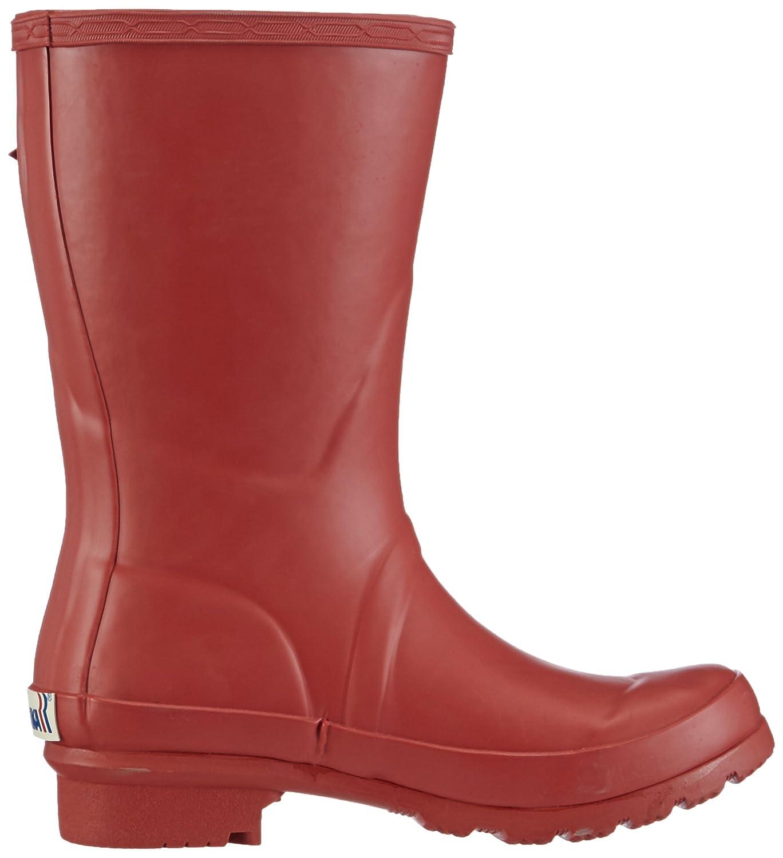 Romika RomiRub 01 - Botas de goma para mujer, color rojo, talla 40