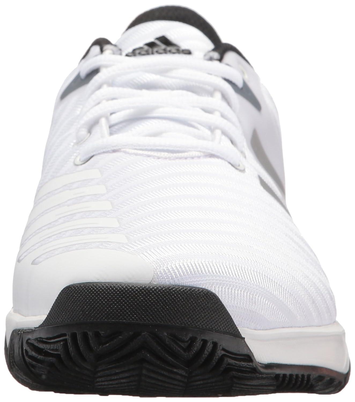 new style 78cef 8b883 Zapatillas de tenis adidas Originals Barricade Court 3 Wide para hombre  Blanco  plata mate  escarlata