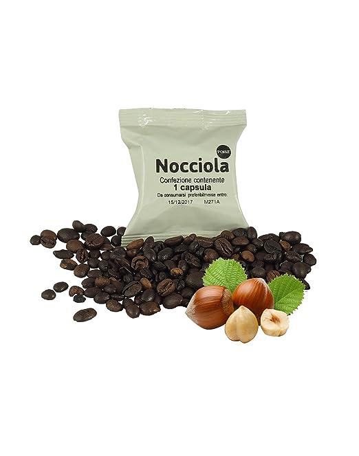50 cápsulas café avellana compatibles Lavazza Espresso Point, paquete de 50 capsulas compatibles con maquinas