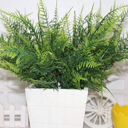 oobest Árbol de verdor de Plantas Artificiales para decoración del hogar, jardín, decoración de Patio: Amazon.es: Hogar