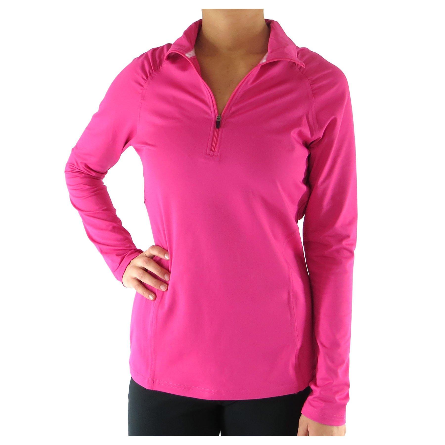 Alex + Abby Women's Essential Pullover X-Small Zuma Pink