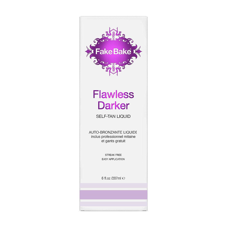 Fake Bake Flawless Darker Self-Tanning Liquid Spray , basic pack , 6 oz