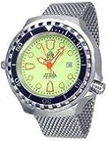52mm GROSSE Automatik Uhr mit Milanaise Band T0269-MIL