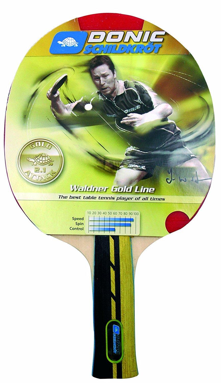 Donic Schildkrot WaldnerゴールドAttackテーブルテニスバット B0788P2K2V